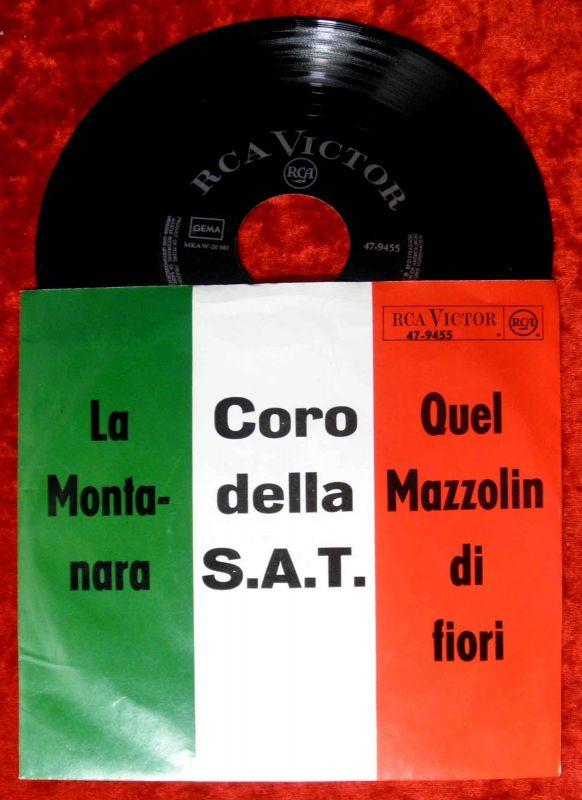 Single Coro della S.A.T.: La Montanara (RCA 47-9455) D