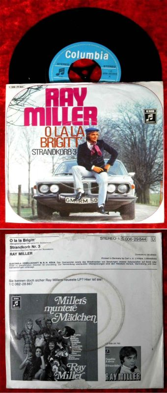 Single Ray Miller: O La La Brigitt (Columbia 1 C 006-29 844) D