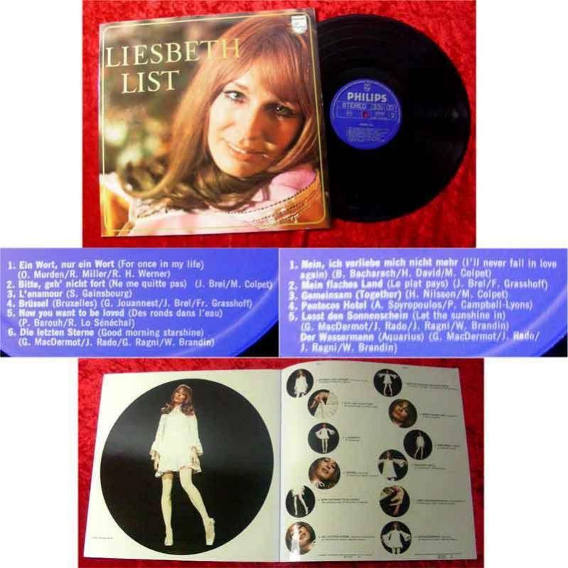 LP Liesbeth List (Philips 6303 001)