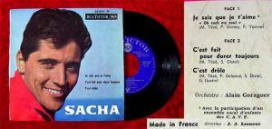 EP Sacha Distel: Je sais que je t´aime + 2 (RCA 86 065) F 1964