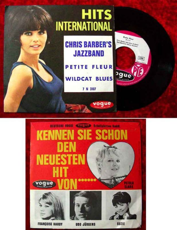 Single Chris Barber´s Jazzband: Petite Fleur (Vogue 7 N 3107) F