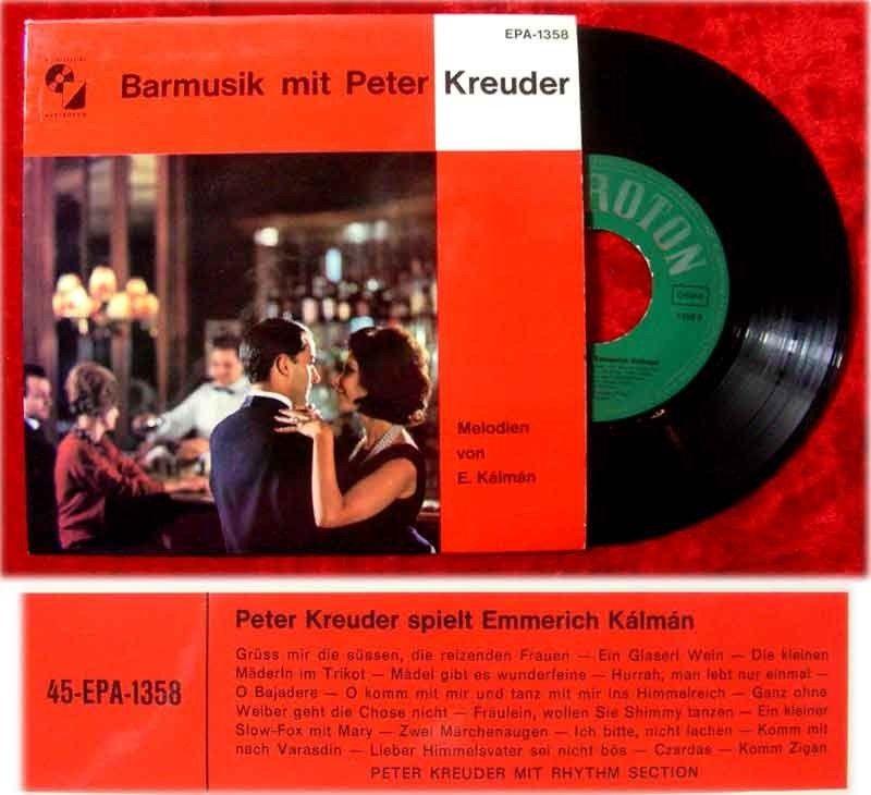 EP Barmusik mit Peter Kreuder