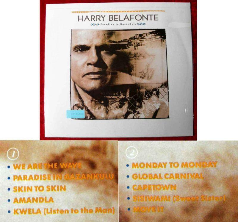 LP Harry Belafonte: Paradise in Gazankulu (EMI 064-7-46971-1) NL