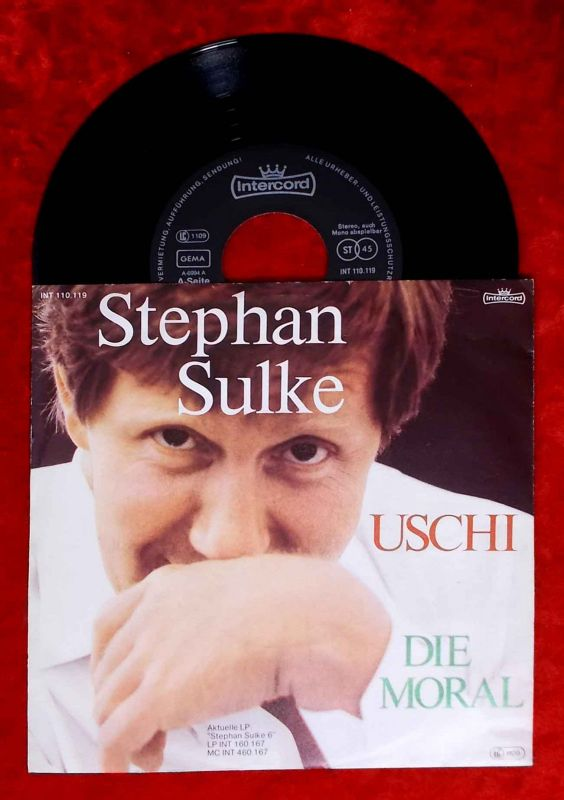 Single Stephan Sulke: Uschi (mach kein´ Quatsch) (Intercord 110.119) D 1982
