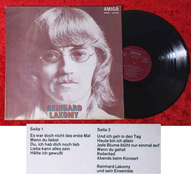 LP Reinhard Lakomy (Amiga 855 354) DDR 1974