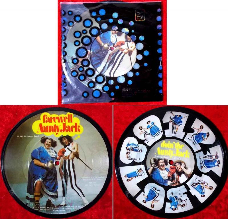 Single Picture Disc Grahame Bond: Doin´The Auntiy Jack (PRS 012) Australien
