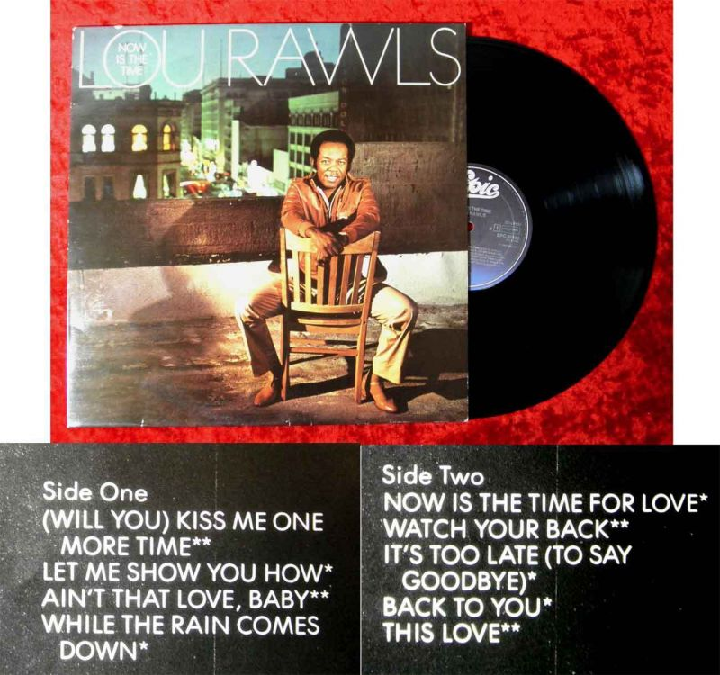 LP Lou Rawls: Now is the Time (Epic 85 193) NL 1982