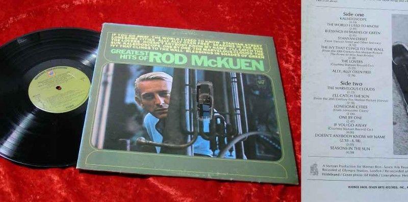 LP Rod McKuen: Greatest Hits of Rod