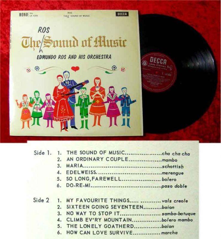 LP Edmundo Ros: The Sound of Music