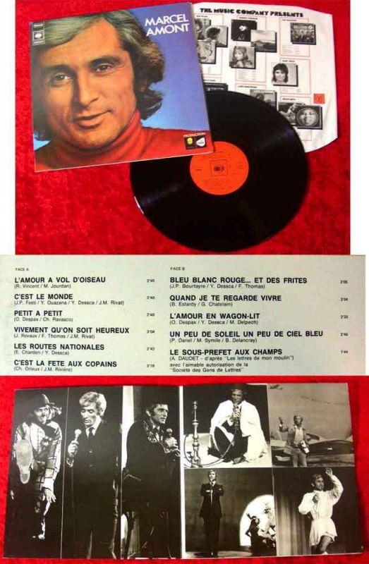 LP Marcel Amont (CBS 65 361) NL 1973