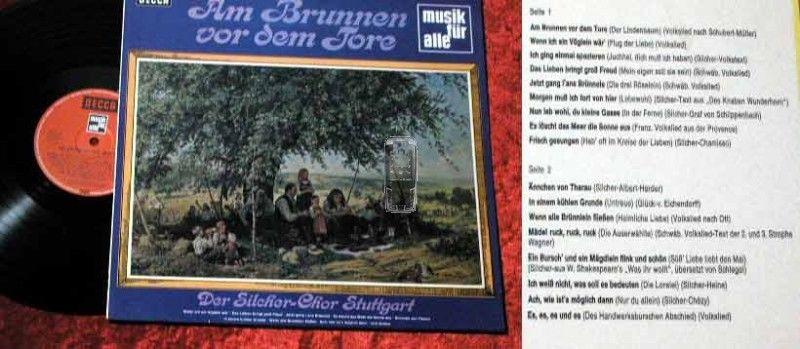 LP Silcher Chor Stuttgart: Am Brunnen vor dem Tore