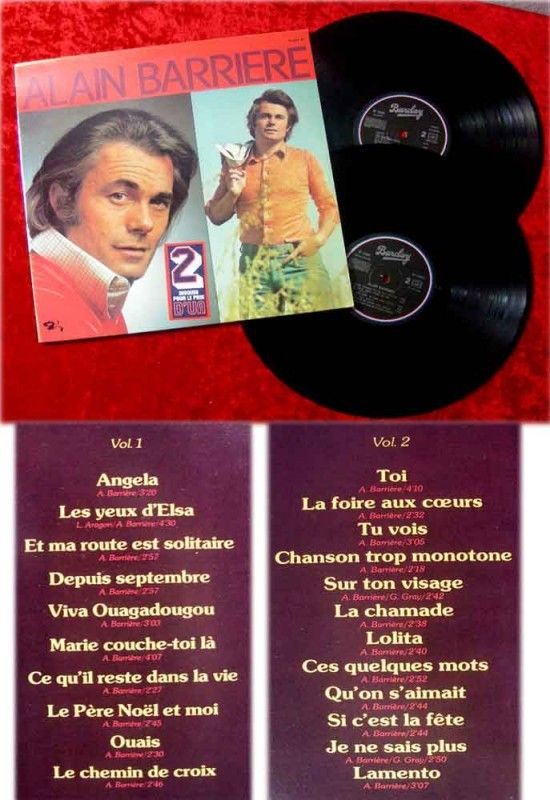 2LP Alain Barriere