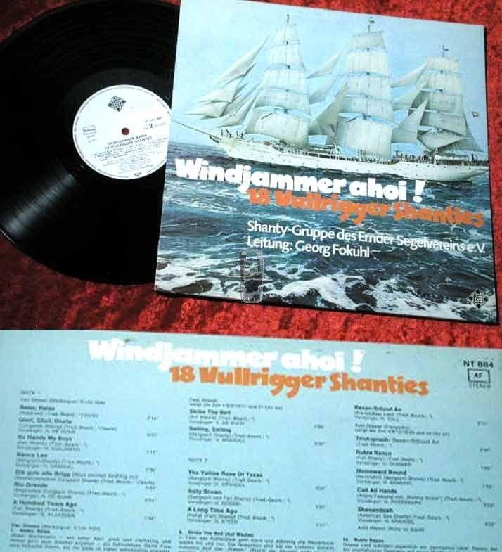 LP Shanty Gruppe Emdener Segelverein: Windjammer Ahoi