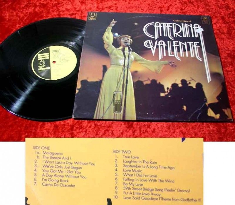 LP Caterina Valente:Golden Hour Of Caterina Valente