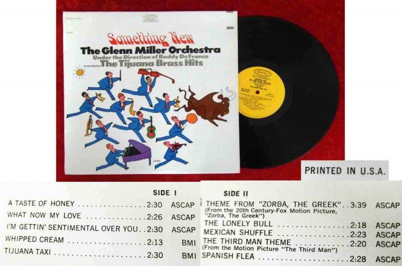 LP Glenn Miller Orchestra Buddy DeFranco: Something New (Epic BN 26206) US 1964