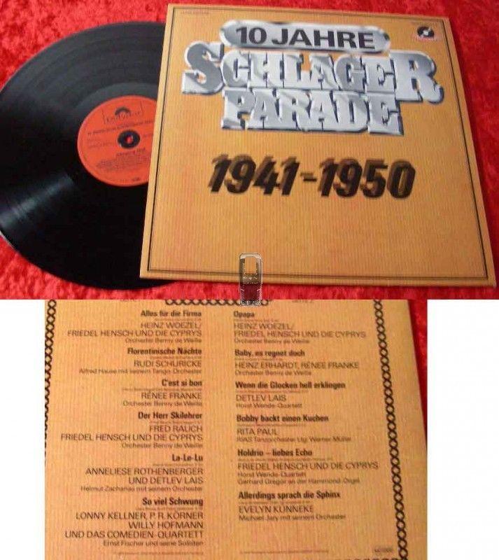LP Polydor Schlagerparade 1950