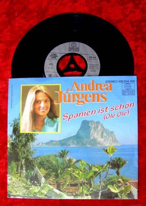 Single Andrea Jürgens: Spanien ist schön