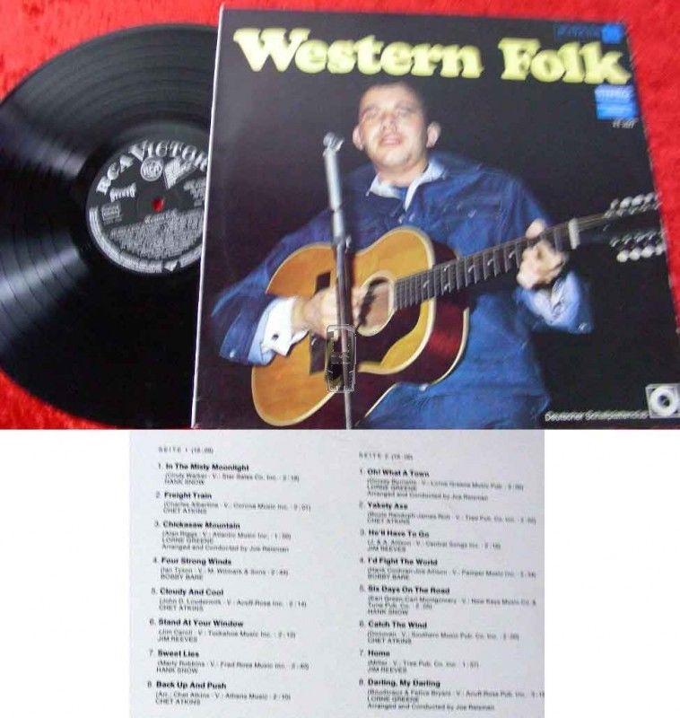 LP Western Folk - Deutscher Schallplattenclub 1965