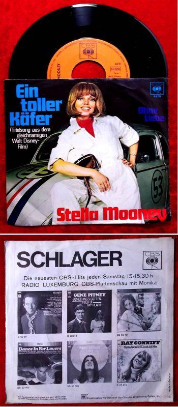 Single Stella Mooney: Ein toller Käfer (CBS 4478) D 1969