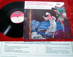 LP Helen Vita: Freche Chansons aus dem alten Frankreich