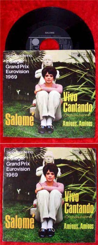 Single Salomé: Vivo Cantando (diff. Cover)