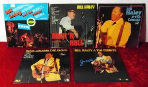 7 Langspielplatten BILL HALEY & COMETS  - Vinylsammlung -