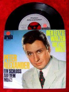 Single Peter Alexander Der letzte Walzer
