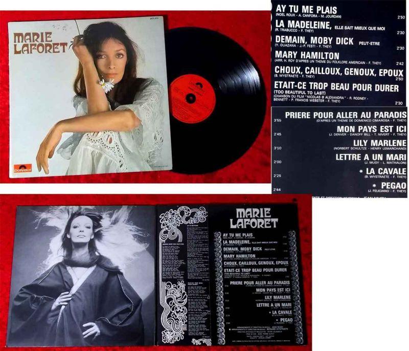 LP Marie Laforet (Polydor 2473 015) Frankreich