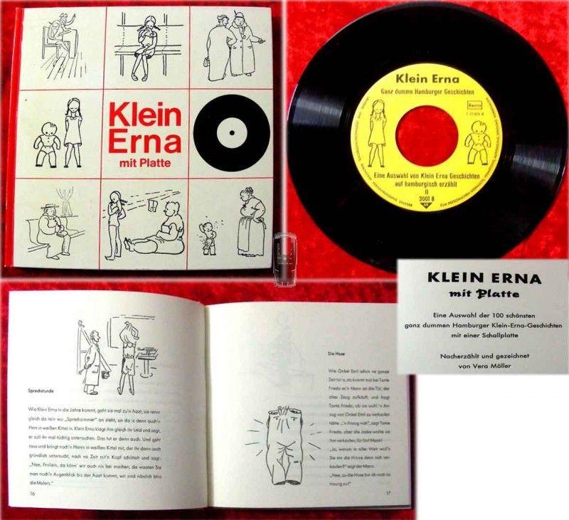 83seitiges Buch mit Single Klein Erna (1967)