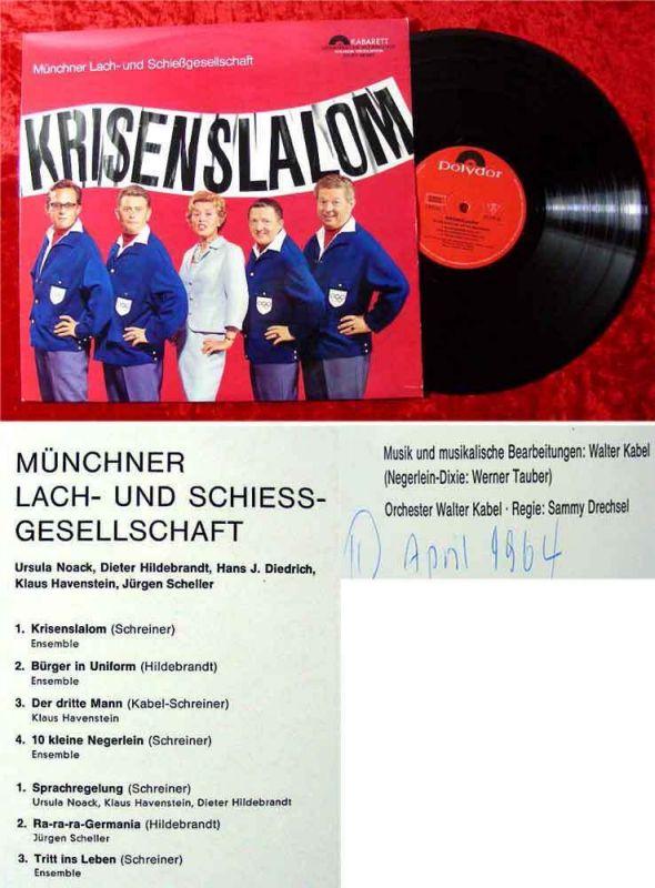LP Münchner Lach-& Schießgesellschaft: Krisenslalom