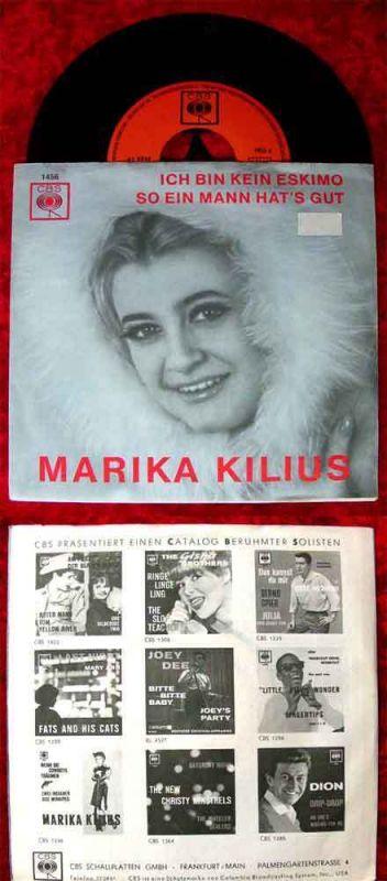 Single Marika Kilius: Ich bin kein Eskimo (CBS 1456)