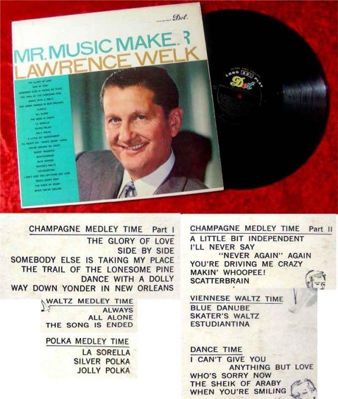 LP Lawrence Welk Mr Music Maker 0
