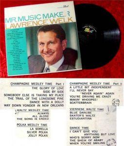 LP Lawrence Welk Mr Music Maker