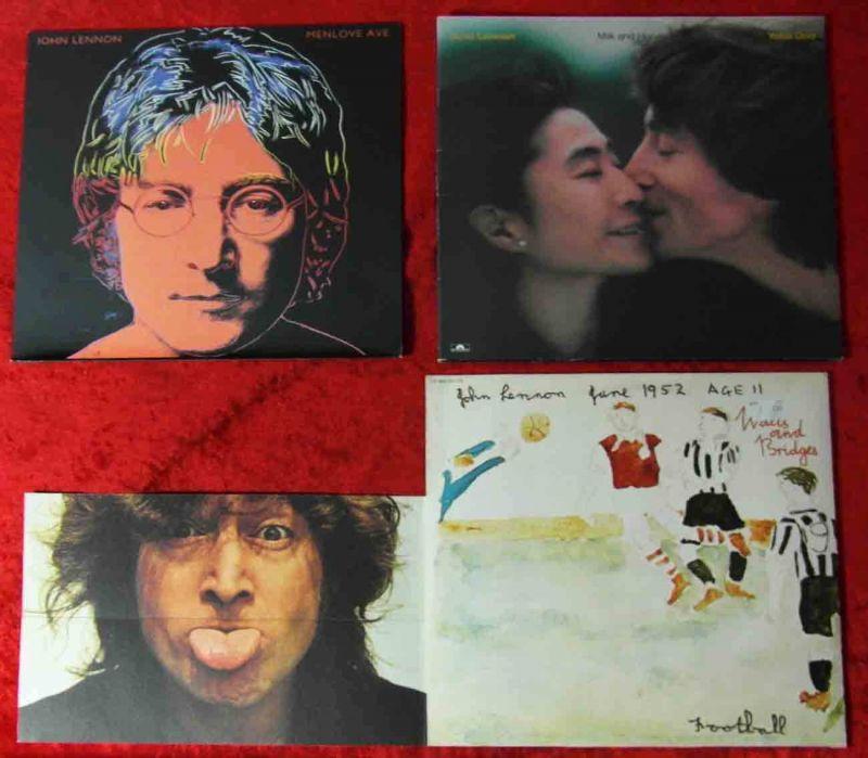 3 Langspielplatten JOHN LENNON  - Vinylsammlung -