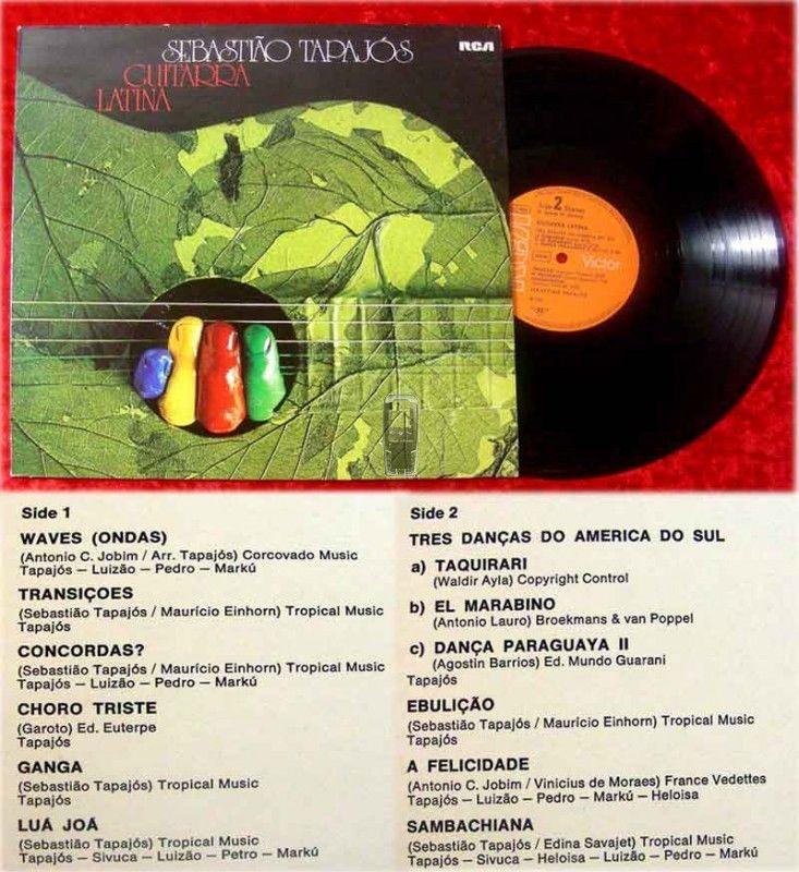 LP Sebastiao Tapajos: Guitarra Latina