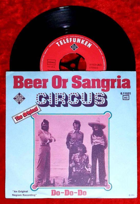 Single Circus: Beer Or Sangria (Telefunken 611521 AC) D 1974