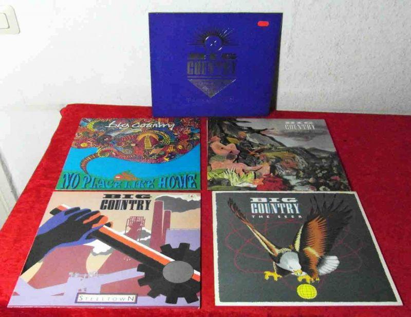 5 Langspielplatten BIG COUNTRY  - Vinylsammlung -