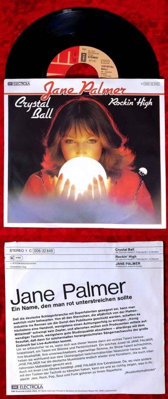 Single Jane Palmer: Crystal Ball (EMI 1C 006-32 849) D 1978