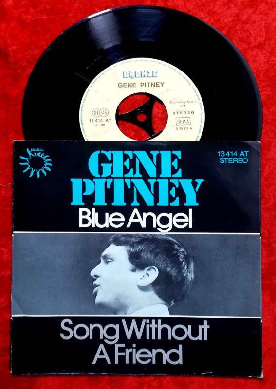 Single Gene Pitney: Blue Angel (Bronze 13 414 AT) D