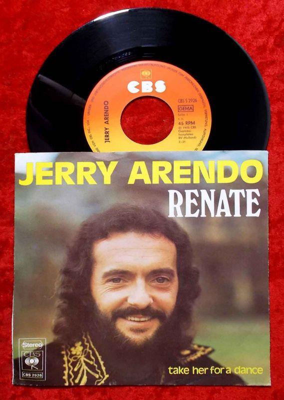 Single Jerry Arendo: Renate (CBS 2926) D 1975