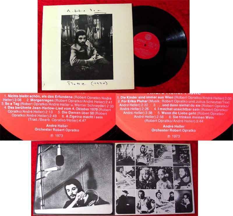 LP André Heller: Platte (1970)