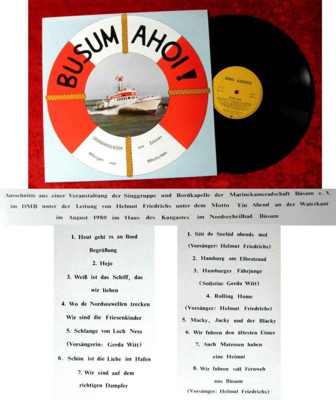 LP Büsum Ahoi! Marinekameradschaft Büsum 1980