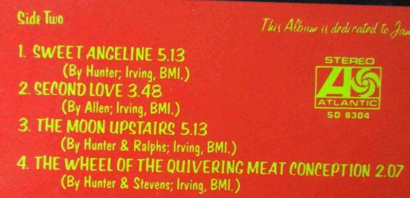 LP Mott the Hoople: Brain Capers (Atlantic SD 8304) US 1972 3