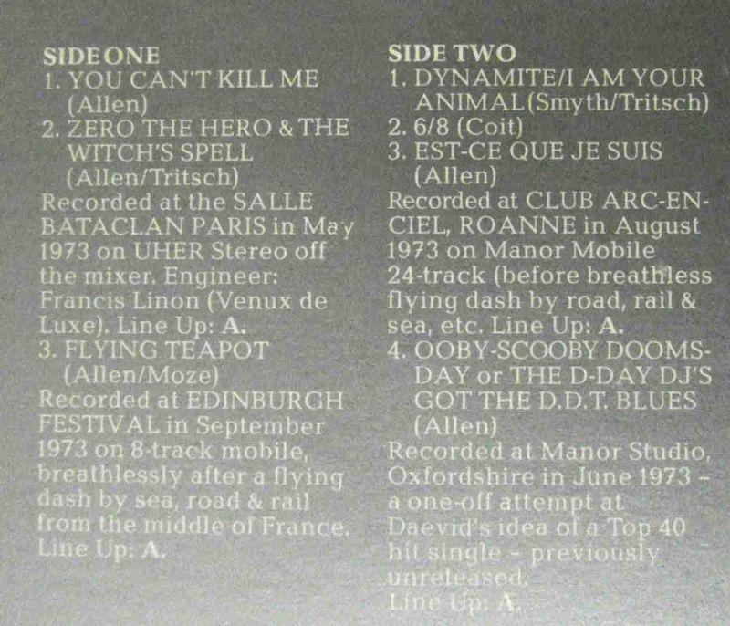 2LP Gong: Live (Virgin 25 083 XBU) D 1973 Gimmickcover 2