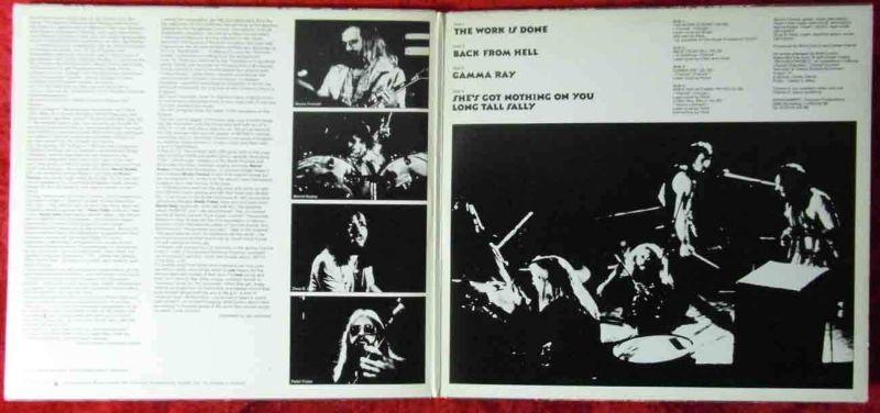 2LP Birth Control: Live (CBS 88 088) NL 1974 3