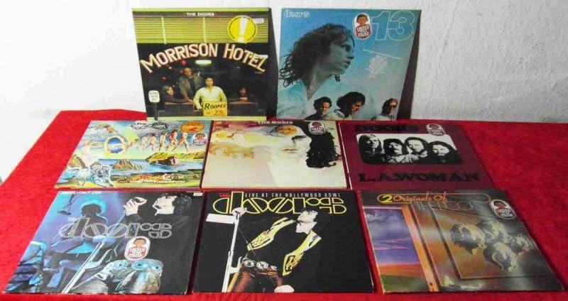 11 Langspielplatten  DOORS  - Vinylsammlung - 0