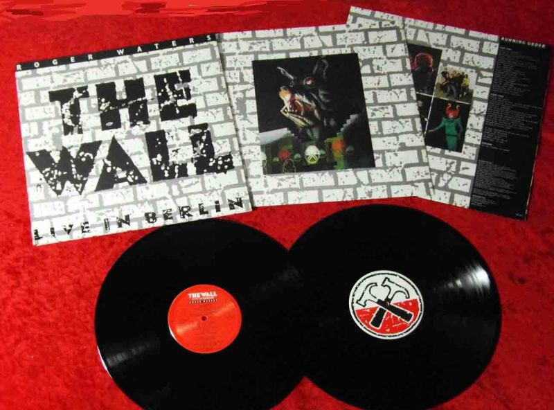 2LP Roger Waters: The Wall - Live in Berlin (Mercury 846 611-1) NL 1990