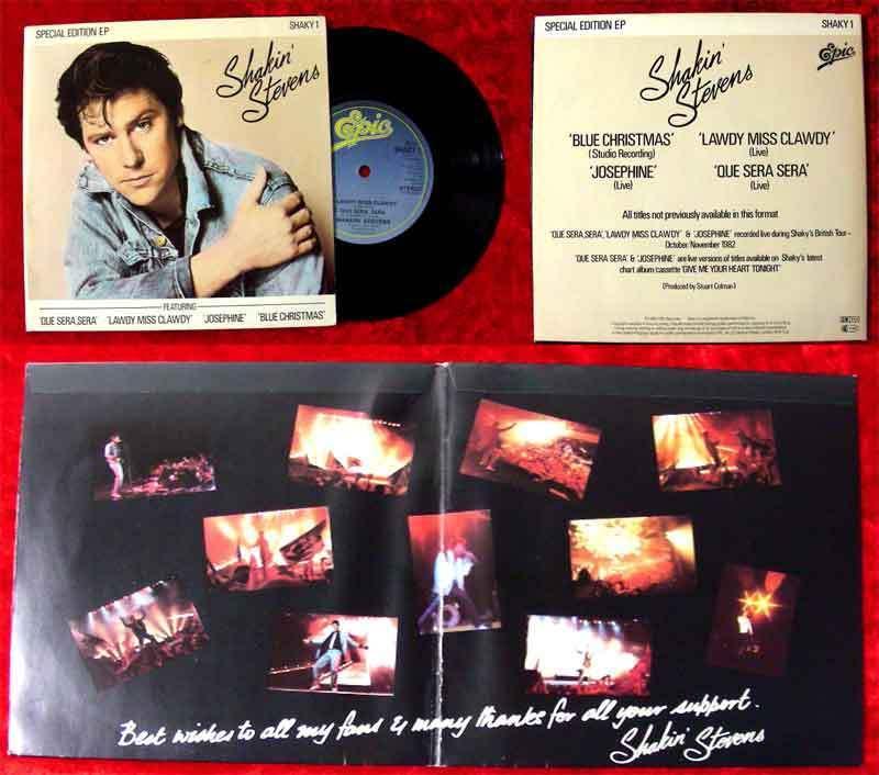 EP Shakin Stevens Special Edition 1982 UK