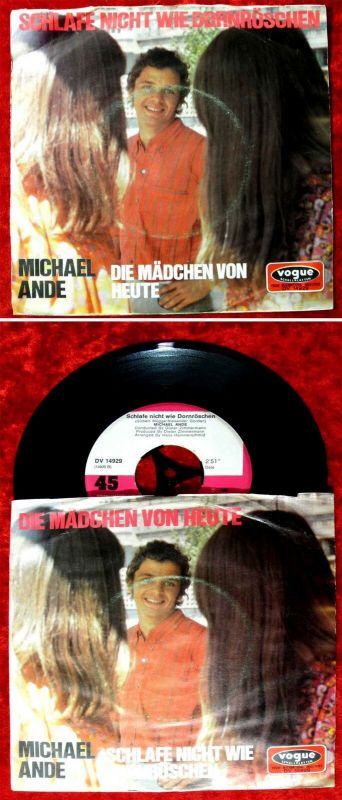 Single Michael Ande: Die Mädchen von heute (Vogue DV 14929) D 1969