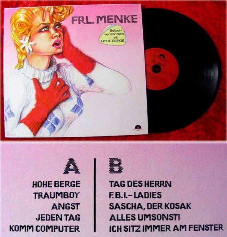 Lp Frl Menke Hohe Berge Nr 362454462510 Oldthing Volksmusik